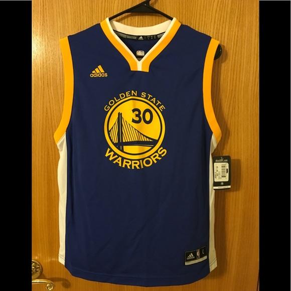 innovative design e5b16 84703 Boy's Golden State Warriors Stephen Curry Jersey NWT